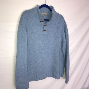 Sweaters - BABY BLUE VTG PULLOVER